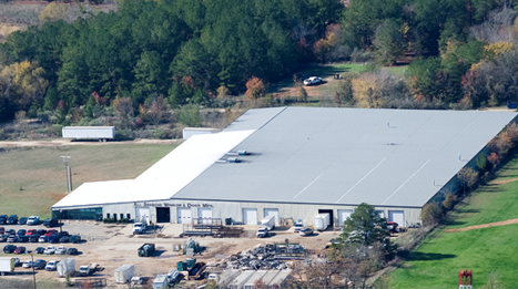 Our 104,000 sq. ft. factory and showroom